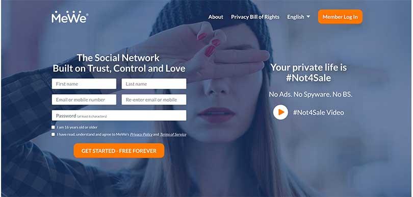 【懶人包】大量用戶移民轉用「新Facebook」! 社交平台MeWe零廣告、無監控優點多