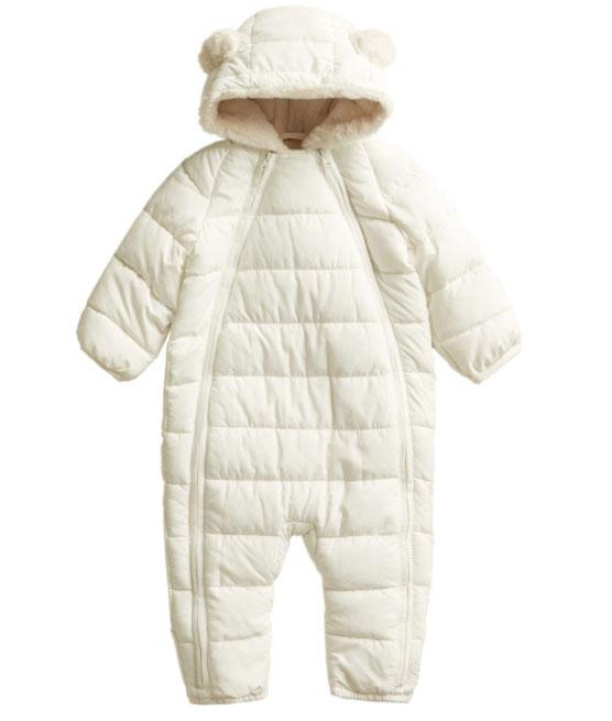 MANGO BABY北極熊寶寶連身衣 五六折後 HK$259