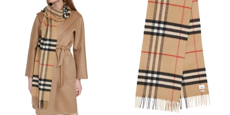 BURBERRY Big scarf