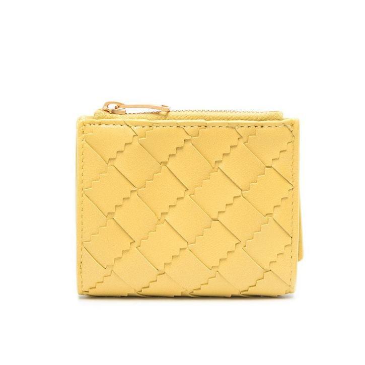 Bottega Veneta Intrecciato weave tri-fold wallet HK$4,100