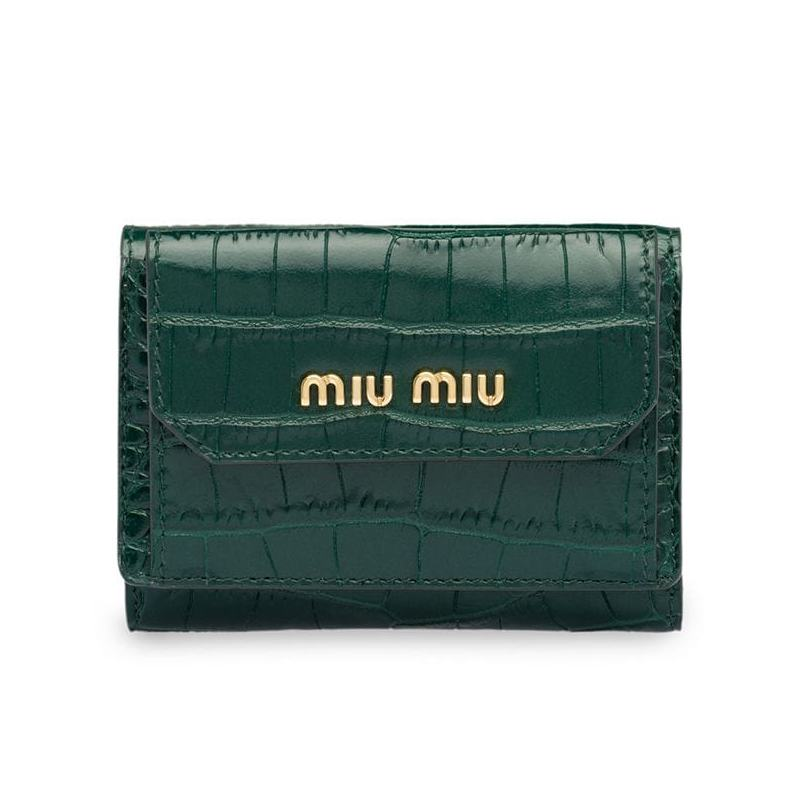 Miu Miu crocodile-effect wallet HK$3,250