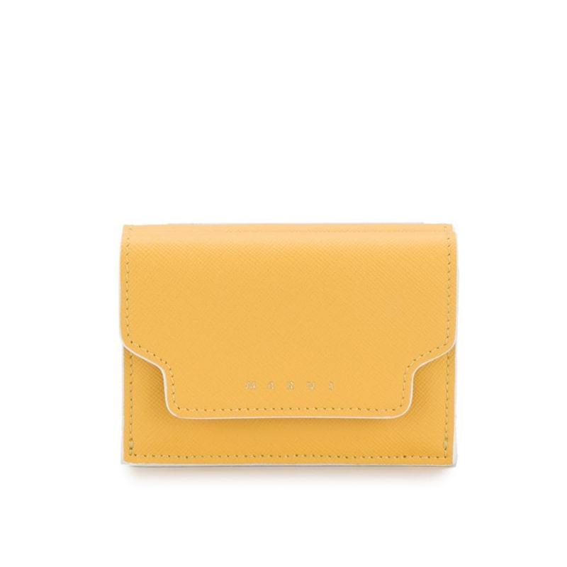 Marni tri-fold logo embossed wallet HK$3,600