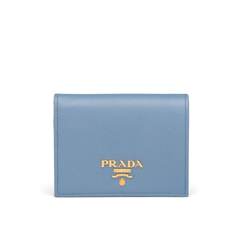 Prada logo plaque small wallet HK$4,100