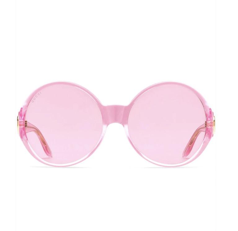 Gucci Eyewear round-frame sunglasses ($3330)