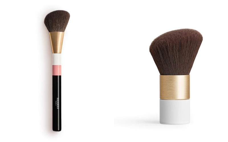 愛馬仕Hermès第一次推出胭脂、化妝掃!貴氣造型+玫瑰色調令人太心動了