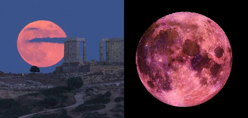 超級粉紅月亮4月26日登場 天琴座流星雨本月天幕上映