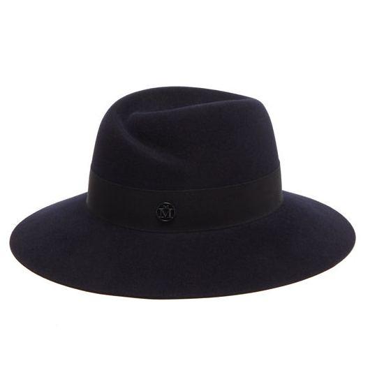 MAISON MICHEL Virginie waterproof felt fedora hat
