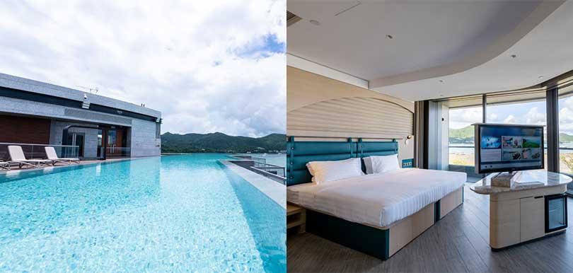 西貢全新五星渡假酒店WM Hotel即將開賣!夢幻無邊際泳池/海景私人花園+豪華露台客房