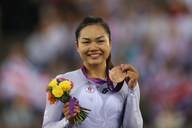 李慧詩繼2012年倫敦奧運摘銅