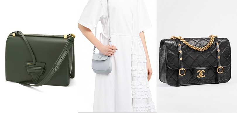 2021話題新手袋 Loewe Barcelona、Prada Mini Cleo、Chanel Flap 總有一個擊中你心