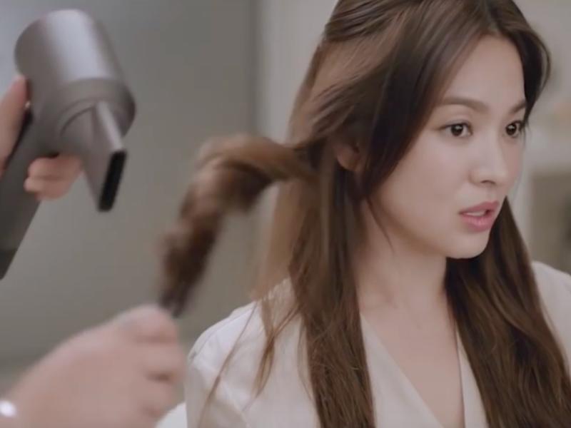 髮型師為我們吹出來的髮型總是比較柔亮和滑順