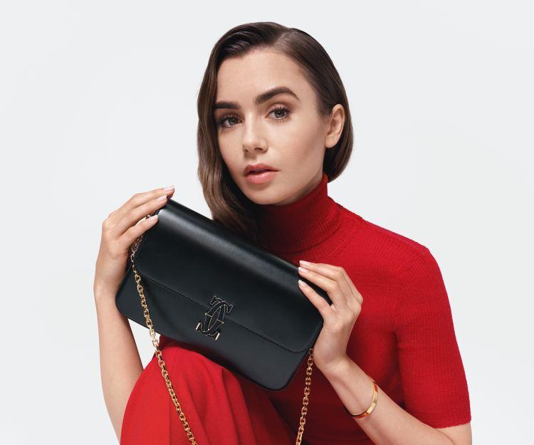 【卡地亞入門版手袋】Cartier全新Double C de Cartier鏈帶手袋 售價顏色詳情大公開