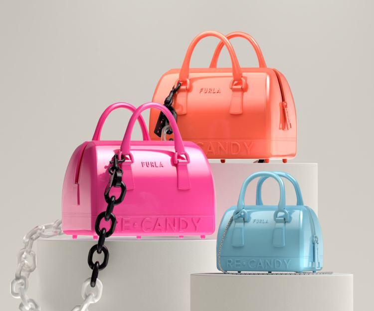 FURLA投入永續時尚! RE-CANDY系列手袋以再造塑膠製作
