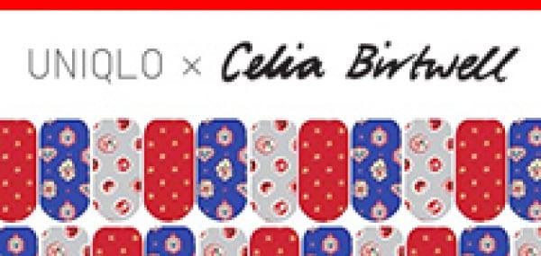 春日限定Uniqlo x Celia Birtwell 指甲貼