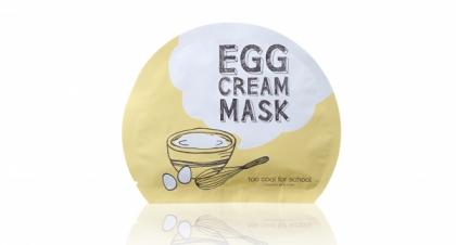新品速報─即敷即白雞蛋mask