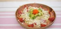 【點Cook Guide】夏日快煮(2) 三文魚牛油果沙律意粉