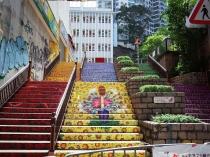 驚喜發現!香港的彩繪藝術樓梯