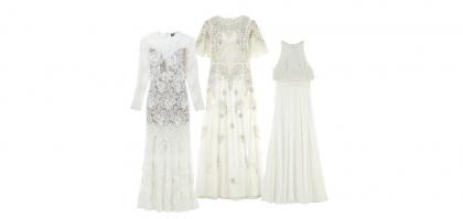 小資新娘福音!<BR/>ASOS 推18件婚紗系列