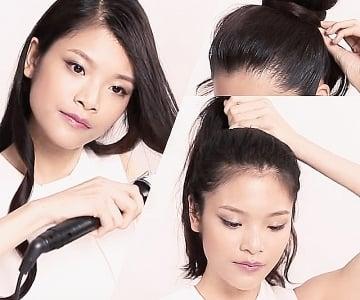 1分鐘教學!DIY姊妹髮型
