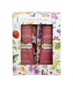 Rosewater mini hand therapy set
