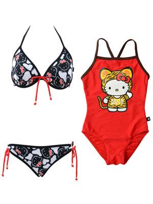 Hello Kitty童裝泳衣大出巡