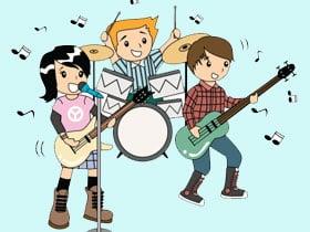 暑假齊參加音樂班