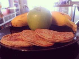 香蕉蘋果Pancake