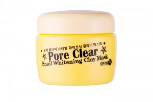 Dream Skin Pore Clear Snail Whitening clay mask
