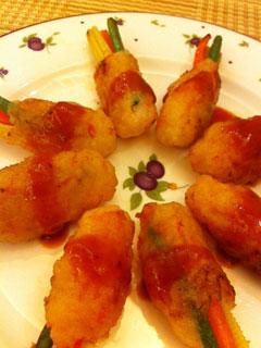 宴客菜——百花卷