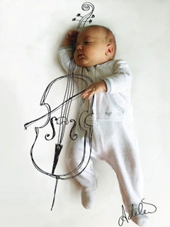 拍攝睡寶寶技巧