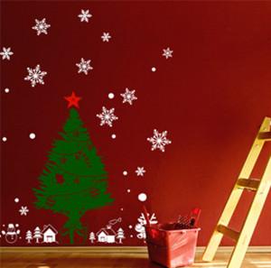 便利聖誕牆貼