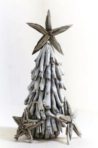 TREE Christmas driftwood tree+star
