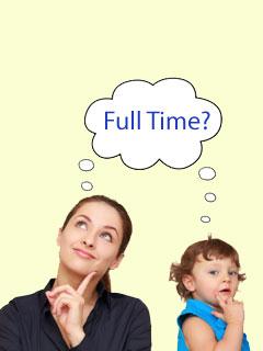 究竟是否要做全職媽媽?
