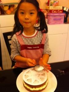 Cocoa-cake w bernice