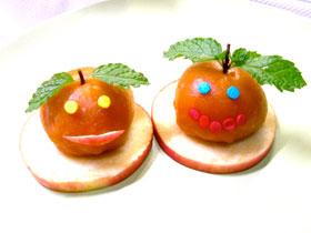 參加「賀年可愛桔果糍」製作班