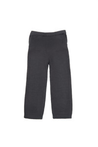 Paade mode_ Grey Knitted Trousers $690