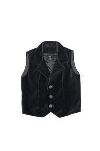 Paade mode_Lapel Velvet Waistcoat $920