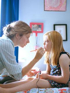 感動!媽媽與唐氏綜合症女兒的互動