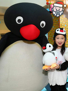 和 Pingu 一家 gathering