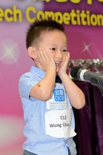 參加「全港幼聯兒童英詩朗誦及歌唱比賽 」增子女自信
