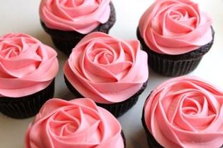 簡單製!玫瑰 cupcake