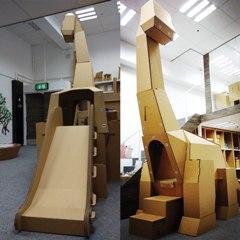驚險刺激!免費瀡紙恐龍滑梯