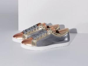 ESCADA SPORT Silver Metallic Sneaker_HKD2900