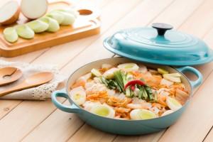 Korean Kimchi Squid