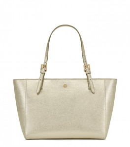 TORY BURCH_YORK_SMALL_TOP-ZIP_BUCKLE_TOTE_GOLD_HKD 2,780