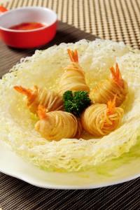 金絲鳳尾蝦 2