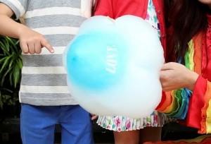 雲彩花式棉花糖