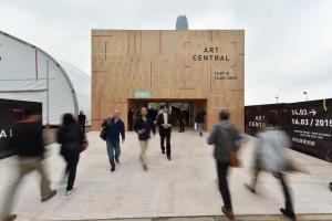 Art Central 2015 exterior