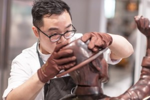 Great Chefs - Roger Fok, Pastry Chef of JW Marriott Hong Kong and top 10 finalists of 2015 World Chocolate Master