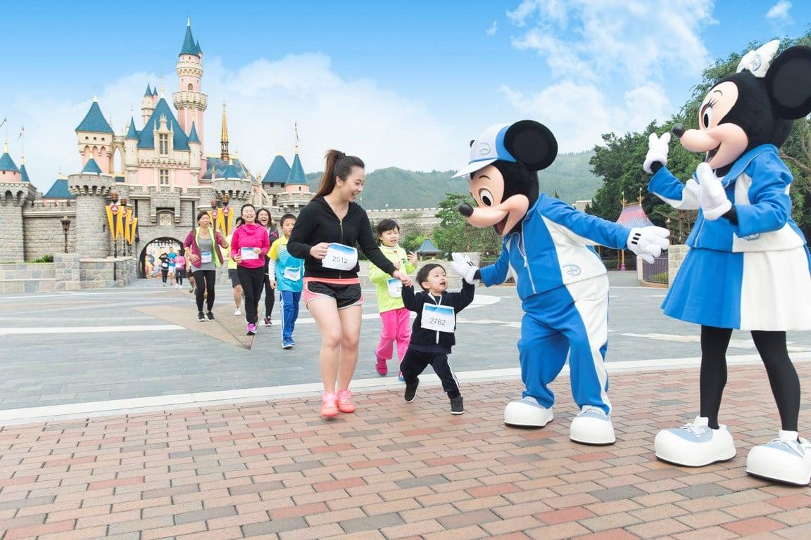 媽呀~ 我要同 Mickey 一齊跑10K !